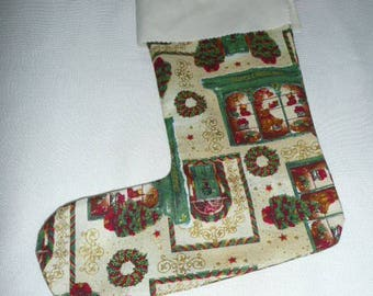 large boot beige Christmas gift