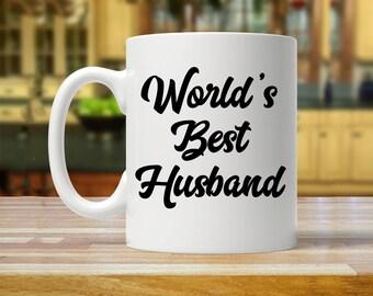 worlds best husband, husband mug, gift for husband, husband mugs, husband gift, husband gifts, mug for husband, husband gift idea, hubby mug