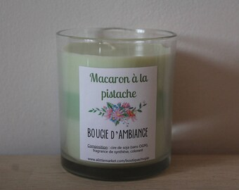 Candle of atmosphere to the pistache◄ ►Macaron soy wax