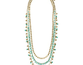 Jaipur Three-Row Convertible Necklace
