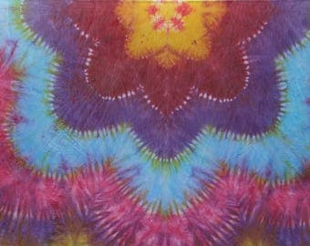 Floral wall hanging large Format!