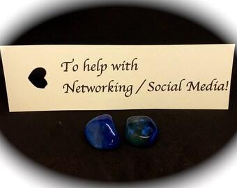 "Crystal stone healing health emotional ailment qualities "" networking / social media """