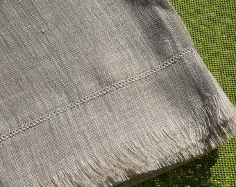 Unisex scarf in 100% - Couloris natural linen