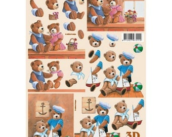 Teddy bear sailor/couple bears LS777025