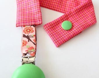 Tie clip #2 baby blanket or pacifier