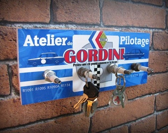 key hook wall renault gordini by deco cars