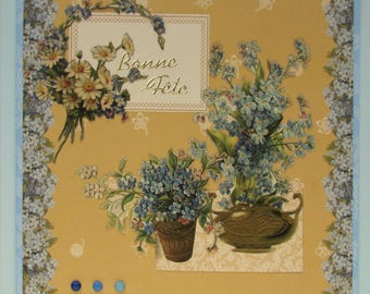 good forget-me-nots party greeting card