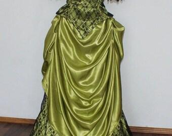 Victorian dress bustle dress Victorian tea dress steampunk vampire