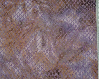 Purple - 100% cotton patchwork - 101 batik fabric