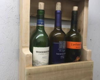 Wall Wine Rack - Small