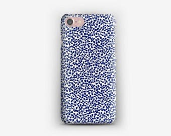 IPhone case 7, 7 + liberty Garden Trail blue iPhone case