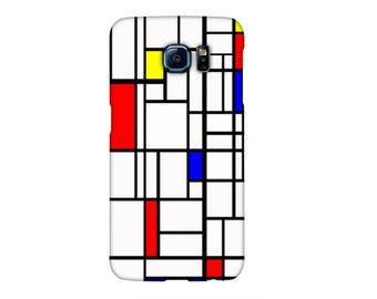 Case Samsung S3, S4, S5, S6, S7, A3, A5, A7, J3, Note, Mondrian