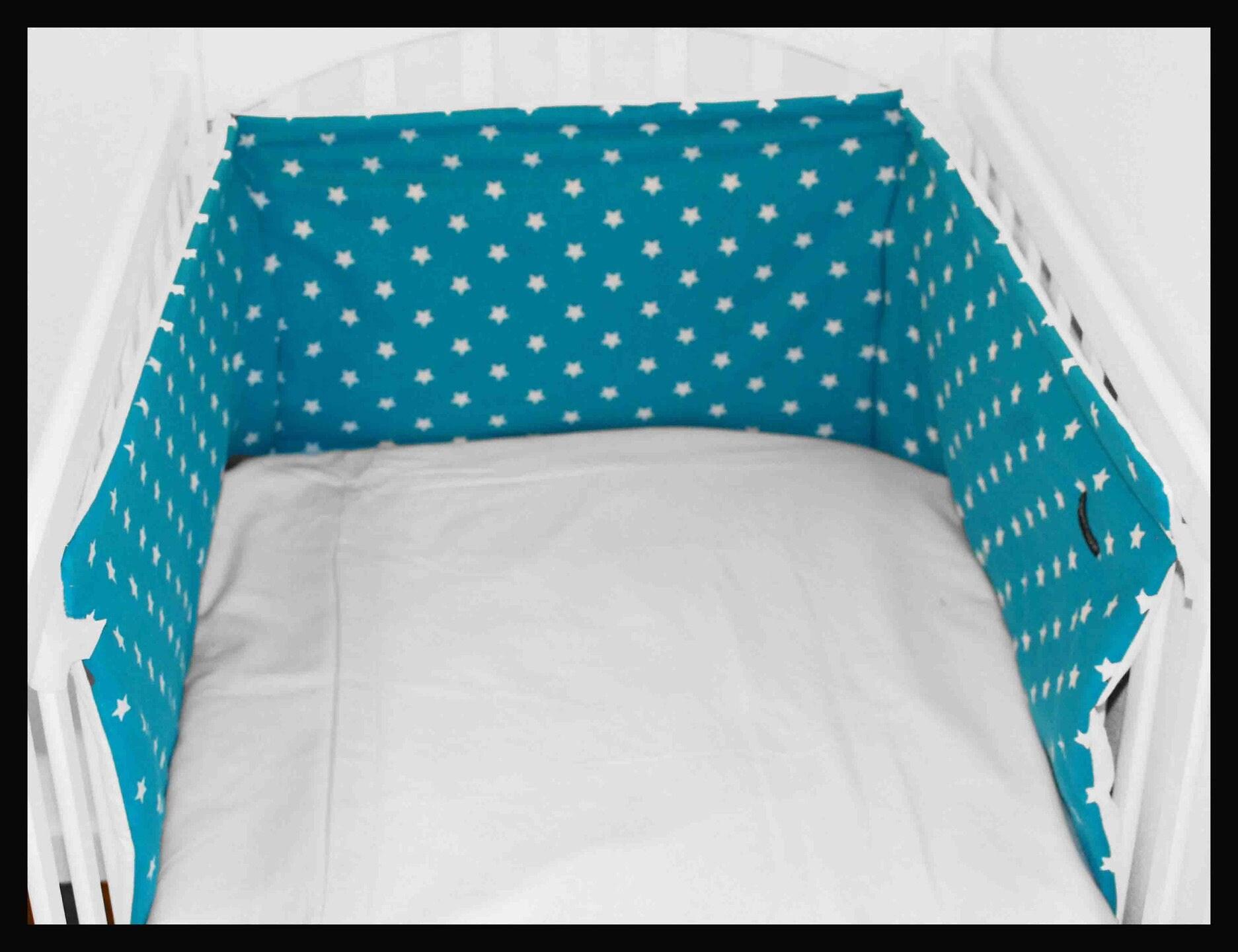 tour de lit toiles original et design pour lit b b. Black Bedroom Furniture Sets. Home Design Ideas