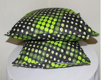 African print - Set of 4 African print pillow covers  - Pillow cases - 100% cotton - cushion cover - cushion case - Home decor