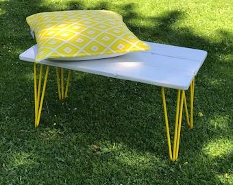 Small foot bench pin yellow