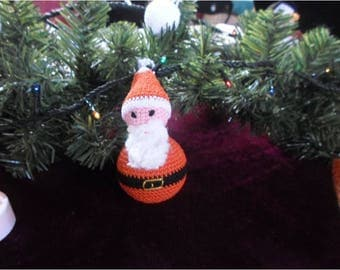 Handmade Santa Claus unbreakable hanging hook