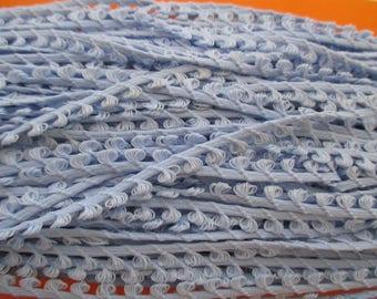 2 meters stripe sky blue, 5mm wide