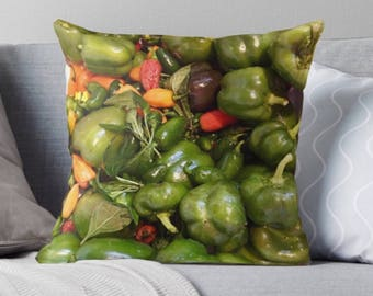 Pepper Mania Pillow Cover