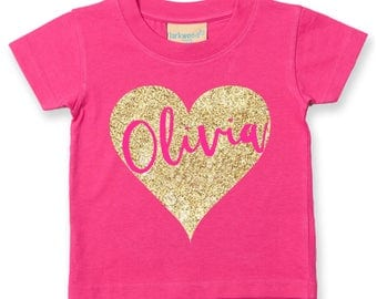 Personalised Kids TShirt | Childs Name T-shirt | Gift ideas for kids | Gift ideas for Baby | Kids Fashion | Personalised Kids Clothing
