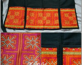 apron handmade/vintage hmong