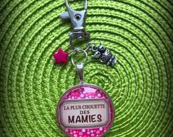 Super Grandma keychain