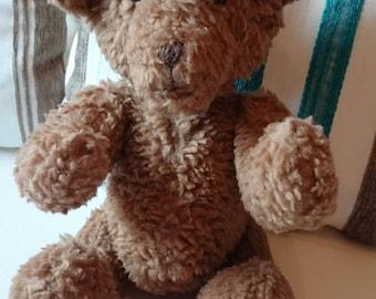 Teddy bear articulated light brown