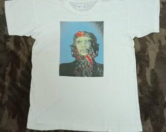 vintage agnes b paris shirt che guevara revolutionist t shirt nice revolutionist   etsy  rh   etsy