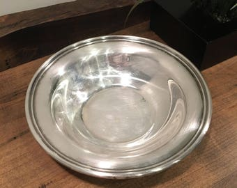 Vintage Reed and Barton Silver plated Bowl #1217