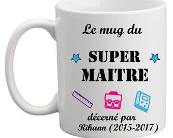 """The great master mug"" mug"