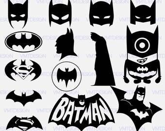 Batman svg - Batman vector - Batman clipart - Batman digital clip art - Digital files download svg, png, pdf, eps, jpg