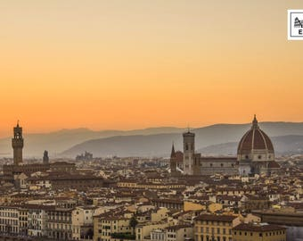 Florence Summer Sunset
