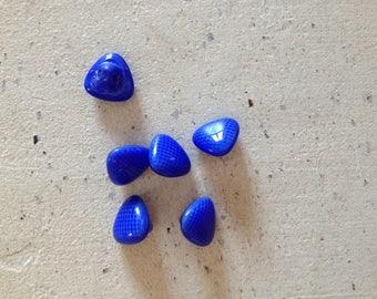 Electric blue buttons set!