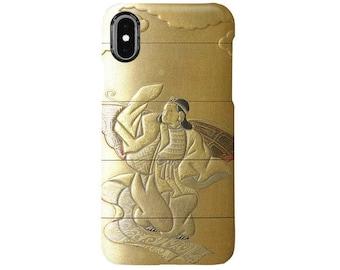 "iPhone case  "" Shibayama Shokasai bugaku-dancer ""  iPhone5/5s/SE/6/6s/6Plus/6sPlus/7/7Plus/8/8Plus/X"