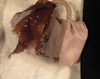PIN bag taffeta fabric
