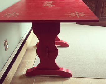 Funky shabby chic table