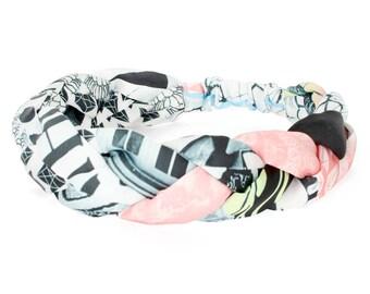Multi-Patterned Braided Headband
