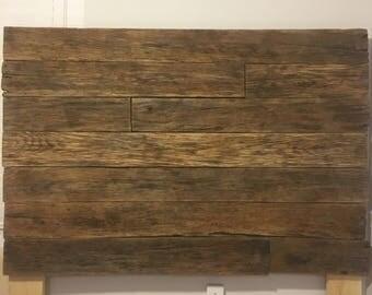 Tennessee River Reclaimed Wood Headboard