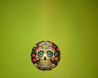 skull cameo skull glass model 5