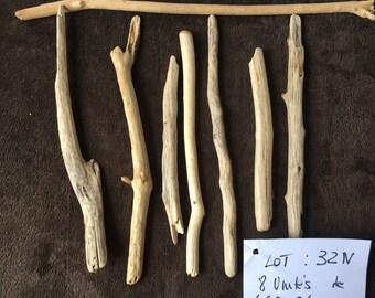 Set of Mediterranean Driftwood - 8 pieces (32N) 46-24 m