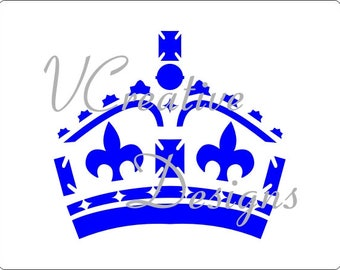 580 Crown stencil