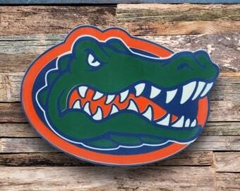 Florida Gators Sign|Florida Gators Christmas|Gift|Boy Football Decor|Boy Room Decor|Logo|Wall Decor|Custom|Home Decor|Wood Sign