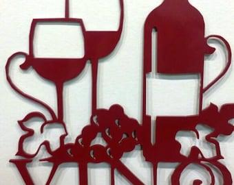 Vino Wine sign