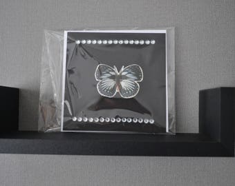 Butterfly Embellished Occasion Card