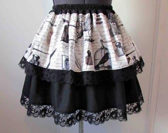 Skirt Nevermore Edgar Allan Poe 1