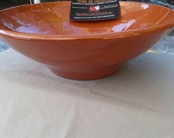 Natural Terra cotta color Bowl.