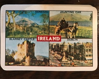 Used ireland playing cards deck