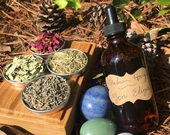 Yoni Oil - Vaginal Oil- Organic - Crystal Infused - Vaginal Health - Feminine Hygiene - Feminine Oil - Herbal Oil - Intimate Oil -