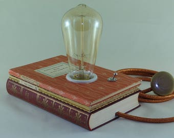 "Book lamp ""Rilke: letters to a young woman"""