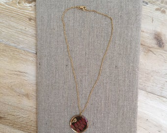 Only in the Forest Brass Backed Necklaces