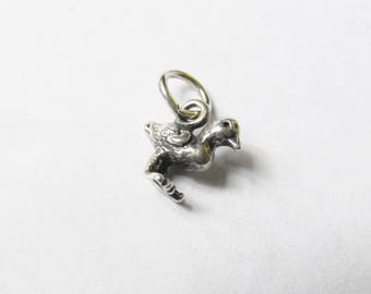 Sterling Duck Duckling Vintage Charm